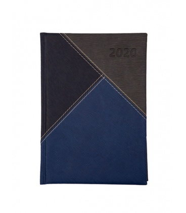 "Daily Diary A5 721 ""Y"" Eclisse blue, grey 2020"