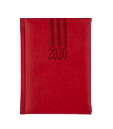 Weekly Diary B6 Vivella   2020