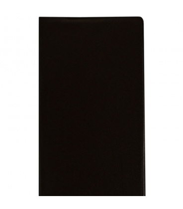 Diary - Planning monthly notebook 919 PVC black 2020
