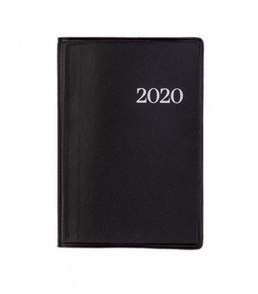 Mini fortnightly Diary 2/2 PVC black 2020