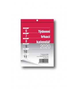 Wall calendar notepad A6 week 2020