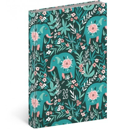 Daily diary A5 Cambio Fun - Floral 2020
