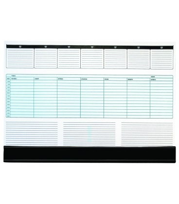 Table calendar map A2 weekly UNI 55 listů + PVC klapna 2020