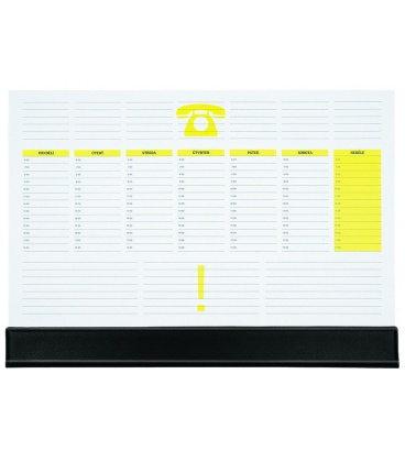 Table calendar map A3 weekly UNI 30 listů + PVC klapna 2020