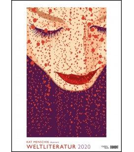 Wall calendar Illustrierte Weltliteratur 2020