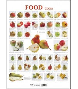 Wall calendar Food 2020