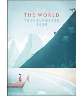Wall calendar Henry Rivers: Travelposter 2020