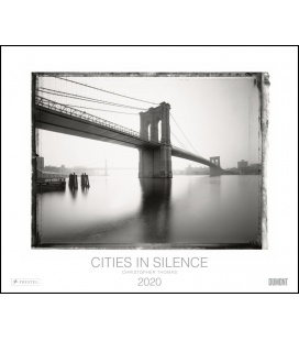 Wall calendar Cities in Silence 2020