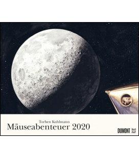Wall calendar T. Kuhlmann: Mäuseabenteuer 2020