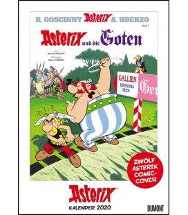 Wall calendar Asterix Comiccover-Kalender 2020