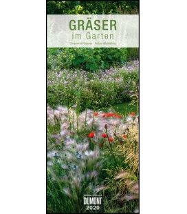 Wall calendar Gräser im Garten  2020