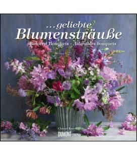Wall calendar ...geliebte Blumensträuße 2020