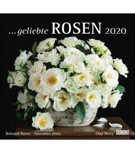 Wall calendar ...geliebte Rosen 2020