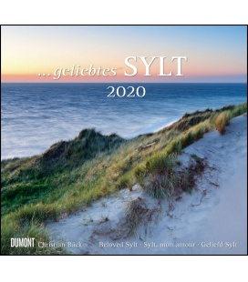Wall calendar ...geliebtes Sylt 2020