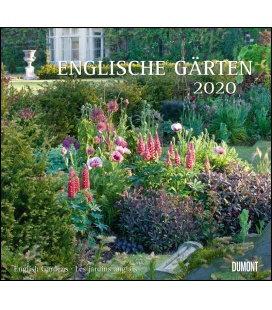 Wall calendar Englische Gärten 2020