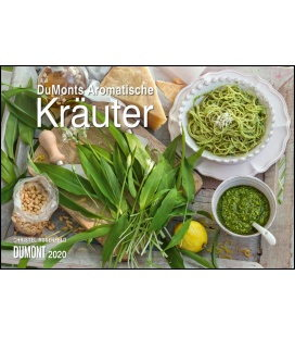 Wall calendar DuMonts Aromatische Kräuter 2020