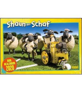 Wall calendar Shaun das Schaf 2020