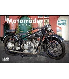 Wall calendar Motorräder & Routen 2020