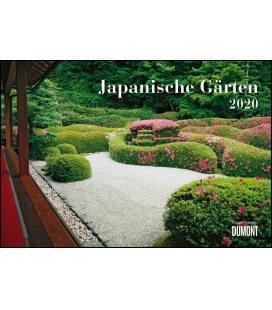 Wall calendar Japanische Gärten 2020