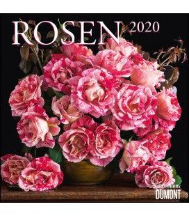 Wall calendar Rosen 2020