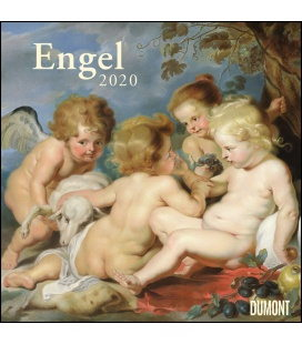Wall calendar Engel 2020