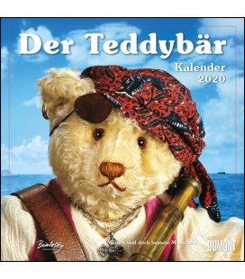 Wall calendar Der Teddybär Kalender 2020