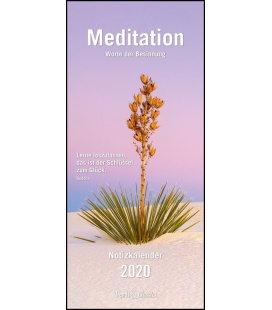 Wall calendar Familien Planer 2020 Meditation T&C 2020