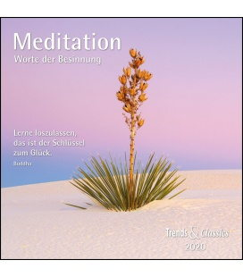 Wall calendar Meditation T&C 2020