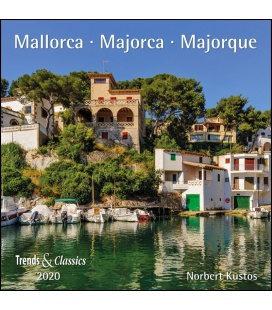 Wall calendar Mallorca T&C 2020