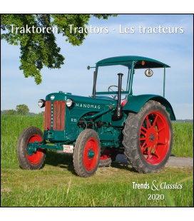 Wall calendar Traktoren T&C 2020