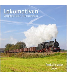 Wall calendar Lokomotiven T&C 2020