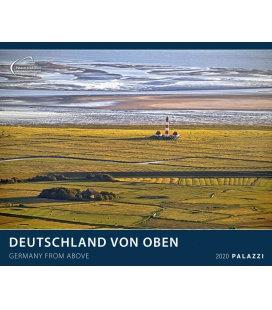 Wandkalender Deutschland von Oben / Germany from above 2020