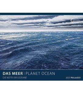 Wandkalender Das Meer / Planet Ocean 2020