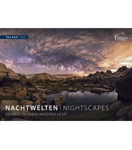Wandkalender Nachtwelten / Nightscapes 2020