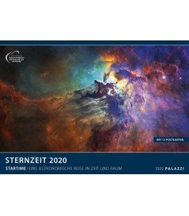 Wandkalender Sternzeit 2020 / Eine Astronomische Reise in Zeit und Raum 2020