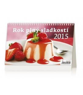Stolní kalendář Rok plný sladkostí 2015