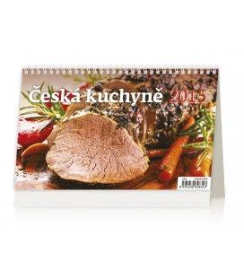 Stolní kalendář Česká kuchyně 2015