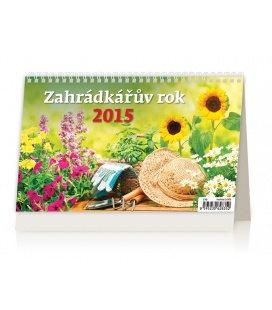Stolní kalendář Zahrádkářův rok 2015