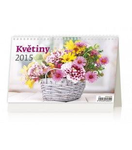 Stolní kalendář Květiny 2015