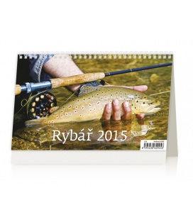 Stolní kalendář Rybář 2015