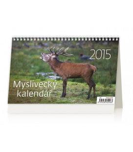 Stolní kalendář Myslivecký kalendář 2015