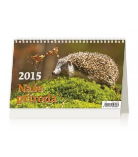 Stolní kalendář Naše příroda 2015