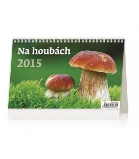 Stolní kalendář Na Houbách 2015