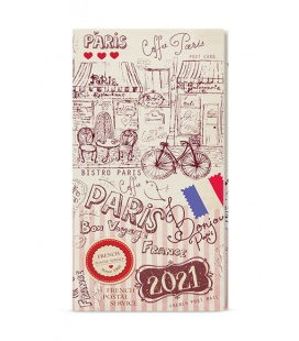 Weekly Pocket Diary - Jakub - lamino  - Paříž 2021