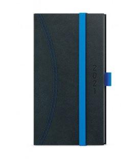Weekly Pocket Diary - Jakub - Nero black, blue 2021