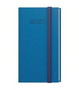 Weekly Pocket Diary - Jakub - vigo blue, blue 2021