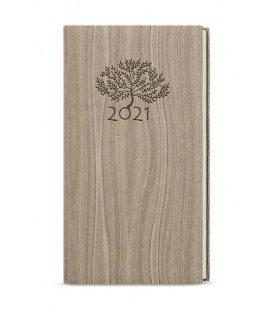 Weekly Pocket Diary - Jakub - Wood light brown 2021