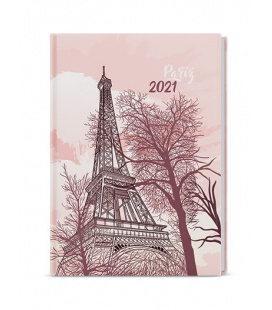 Weekly Diary A5 - Oskar - lamino  - Eiffelovka 2021