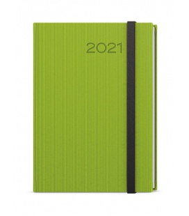 Weekly Diary A5 - Oskar - vigo green, black 2021