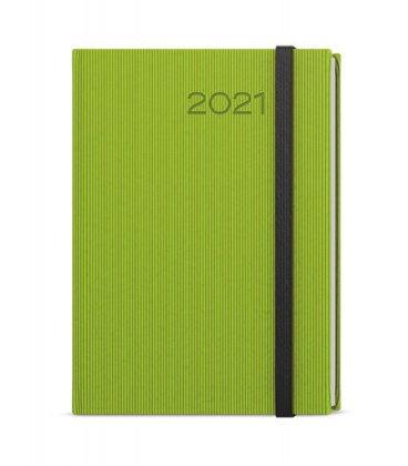 Weekly Diary A5 - Oskar - vigo green, black 2021